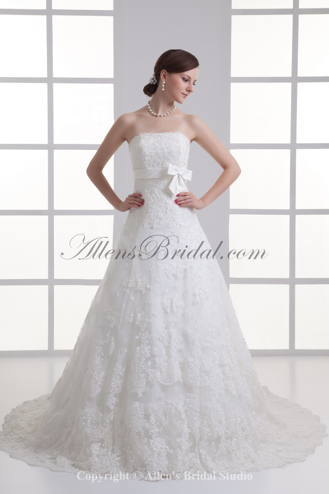 /1067-8554/satin-and-lace-strapless-a-line-sweep-train-sash-wedding-dress.jpg