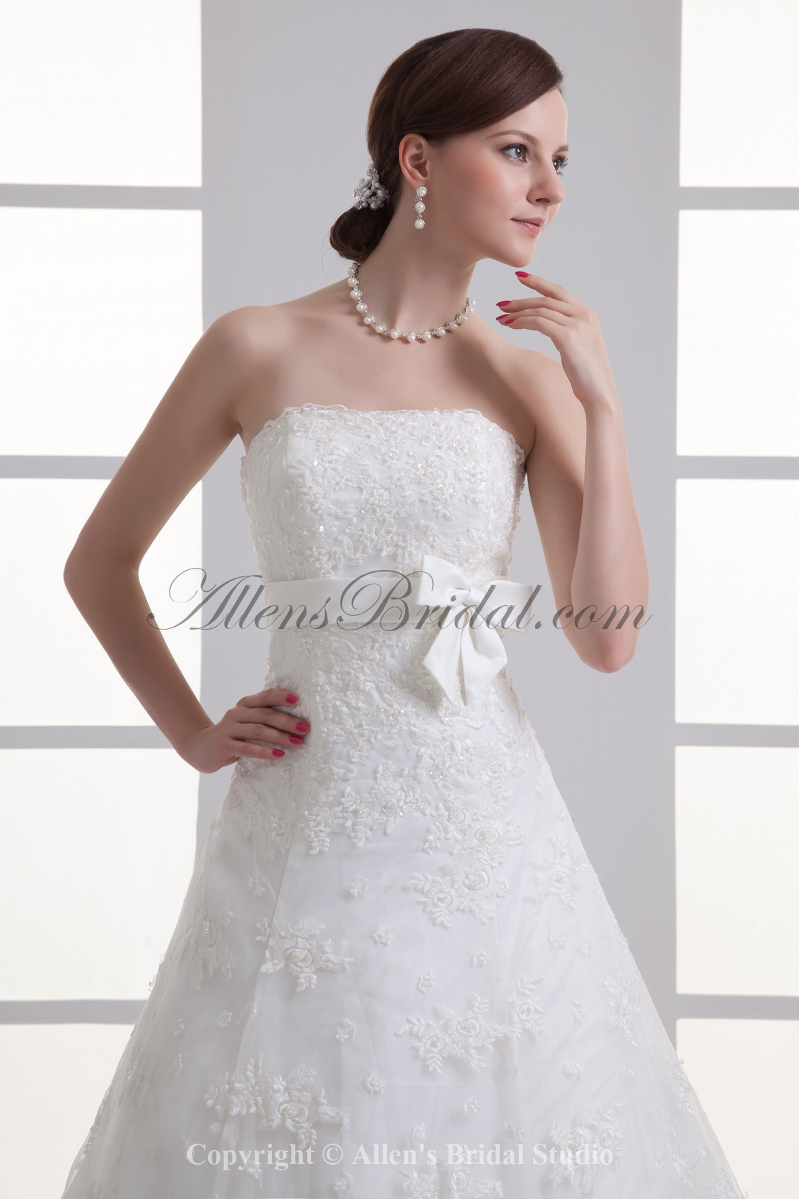 /1067-8555/satin-and-lace-strapless-a-line-sweep-train-sash-wedding-dress.jpg