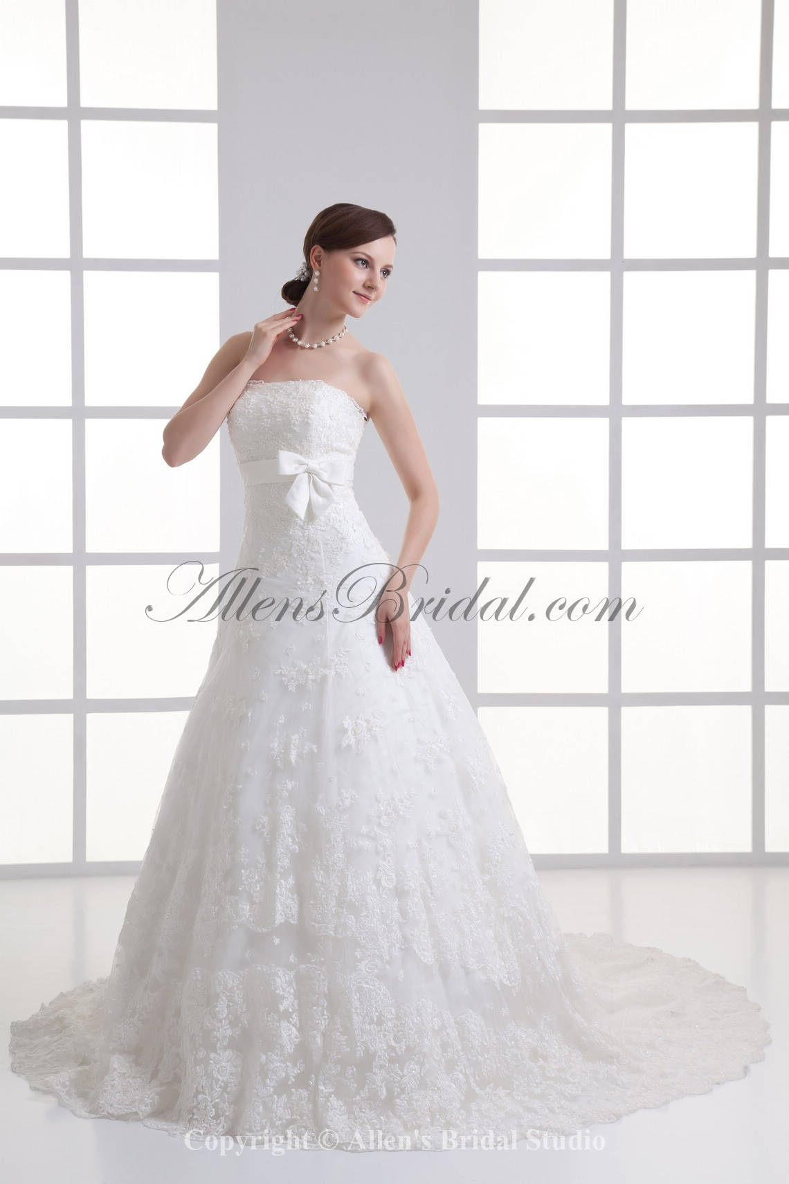 /1067-8556/satin-and-lace-strapless-a-line-sweep-train-sash-wedding-dress.jpg