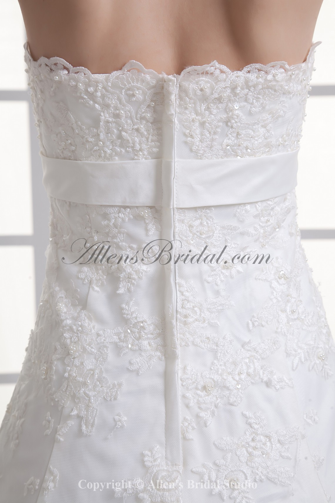 /1067-8559/satin-and-lace-strapless-a-line-sweep-train-sash-wedding-dress.jpg