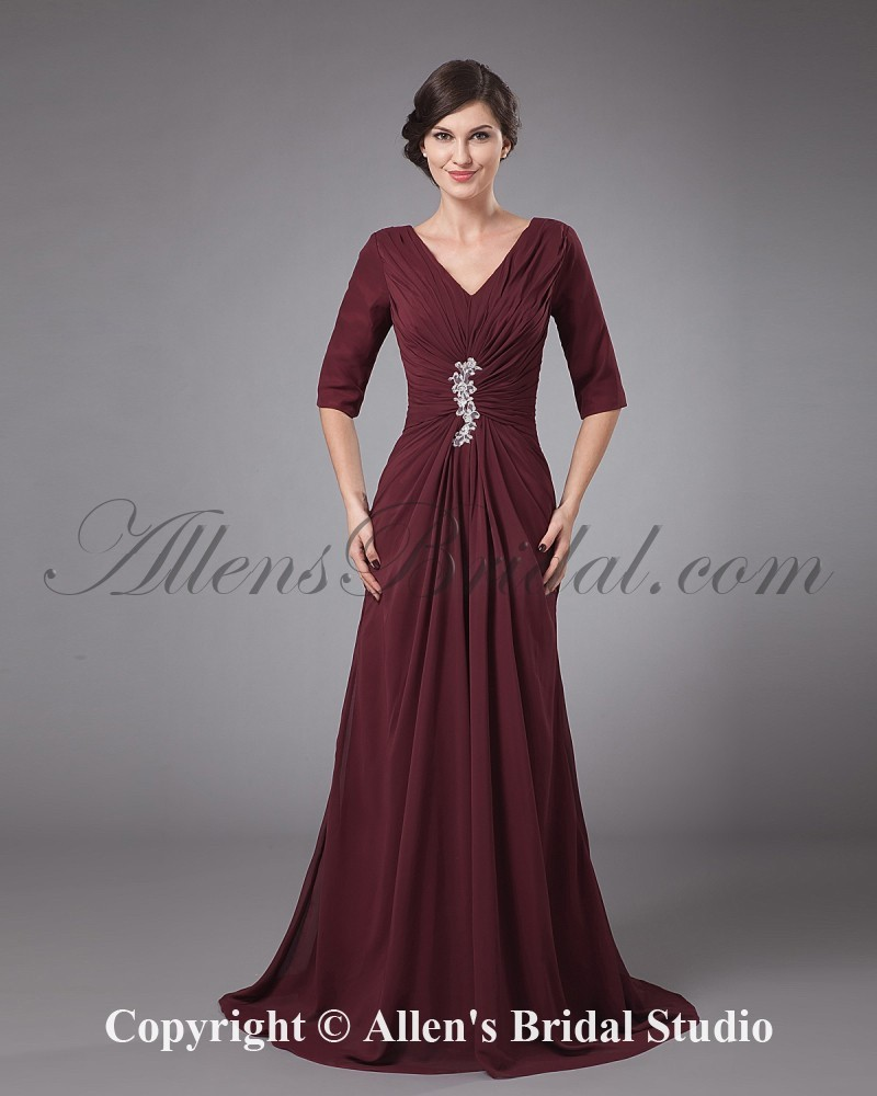 /1168-9377/chiffon-v-neck-sweep-train-a-line-mother-of-the-bride-dress-with-pleated-and-ruffle.jpg