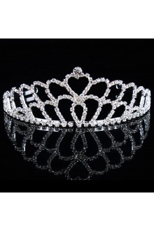 Beauitful Alloy with Rhinestiones Wedding Bridal Tiara