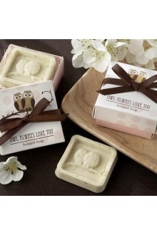 """Owl Always Love You"" Scented Soap Wedding Favor"