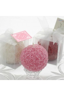 Love Roses Ball Candle