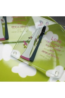 Celebration of Love Glass Coasters (Set of 2)