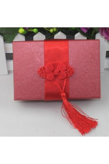 Square Favor Box With Chinese Knot