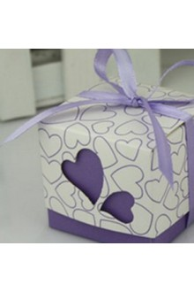 Sweetheart Hollow Favor Box (Set of 12)