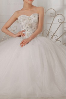 Lace High Collar Neckline Cathedral Train Mermaid Gown with Pearls