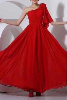 Lace Off-the-Shoulder Cathedral Train Sheath Gown with Crystal