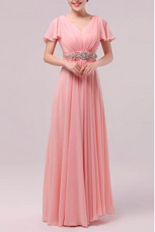 Net Sweetheart Floor Length Ball Gown Dress with Pearls