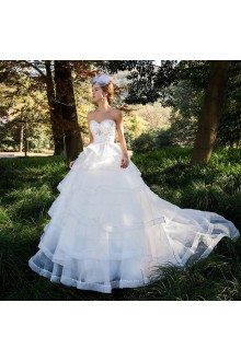 Lace,Satin,Tulle Sweetheart Ball Gown Dress with Sequins