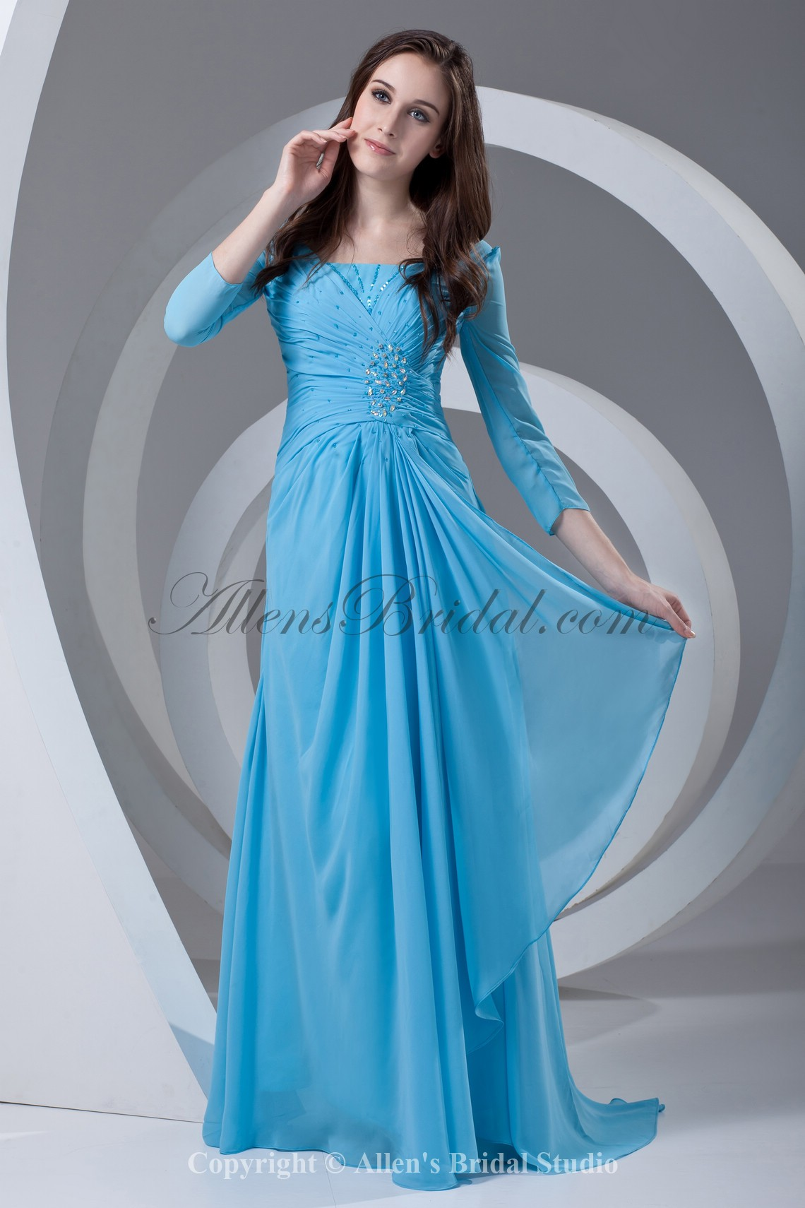 /337-2690/chiffon-square-neckline-sweep-train-column-prom-dress-with-three-quarter-sleeve-and-gathered-ruched.jpg