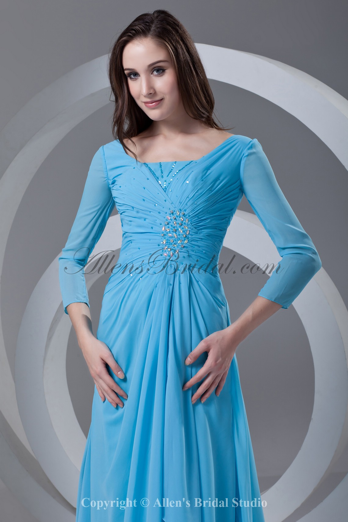 /337-2692/chiffon-square-neckline-sweep-train-column-prom-dress-with-three-quarter-sleeve-and-gathered-ruched.jpg