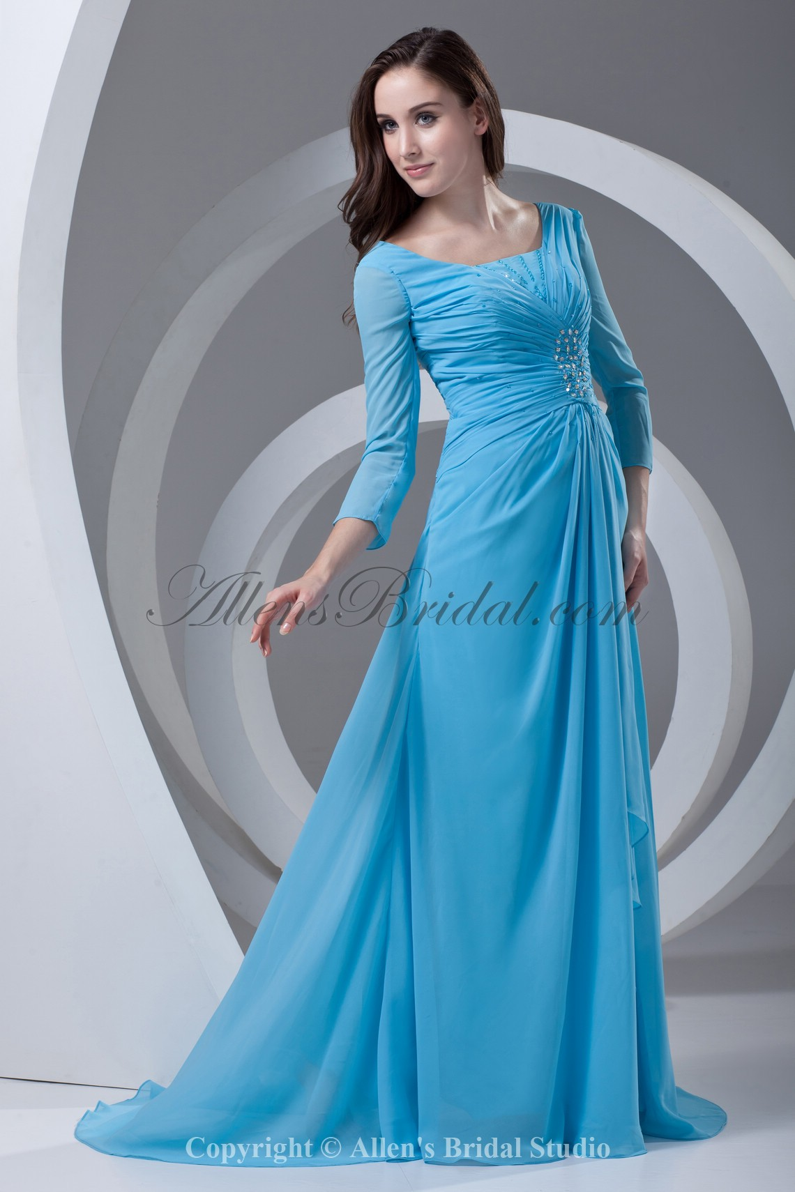 /337-2694/chiffon-square-neckline-sweep-train-column-prom-dress-with-three-quarter-sleeve-and-gathered-ruched.jpg