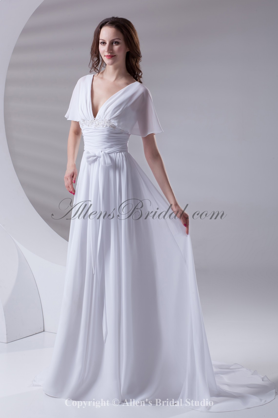 /415-3318/chiffon-v-neckline-column-sweep-train-short-sleeves-prom-dress.jpg