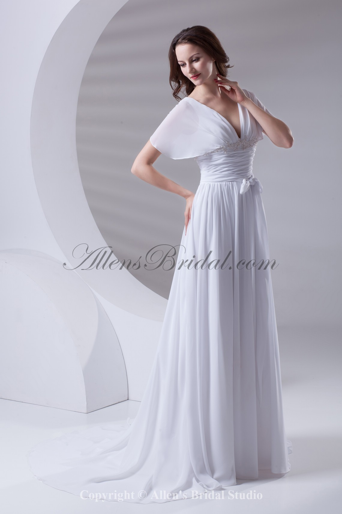 /415-3319/chiffon-v-neckline-column-sweep-train-short-sleeves-prom-dress.jpg