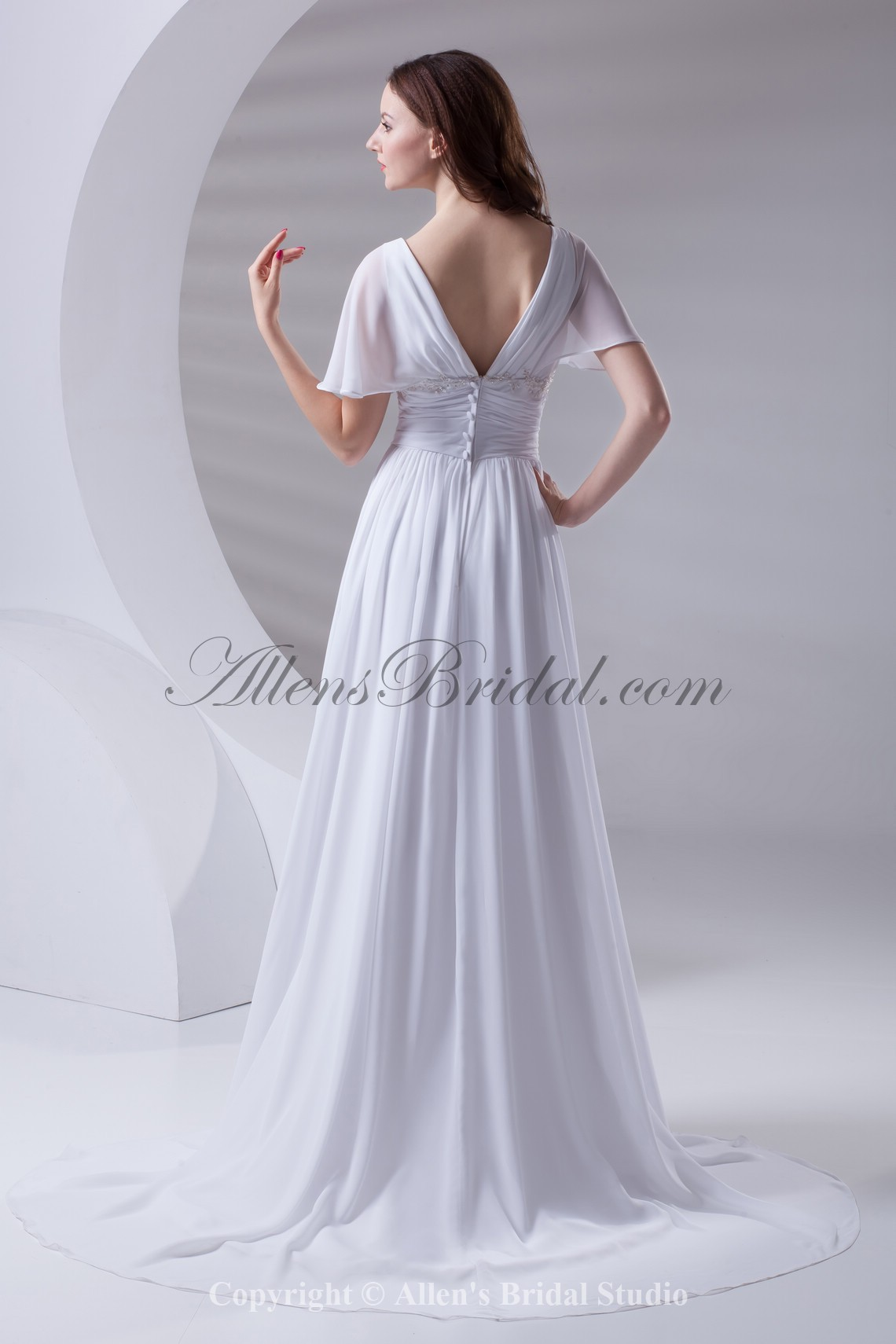 /415-3323/chiffon-v-neckline-column-sweep-train-short-sleeves-prom-dress.jpg