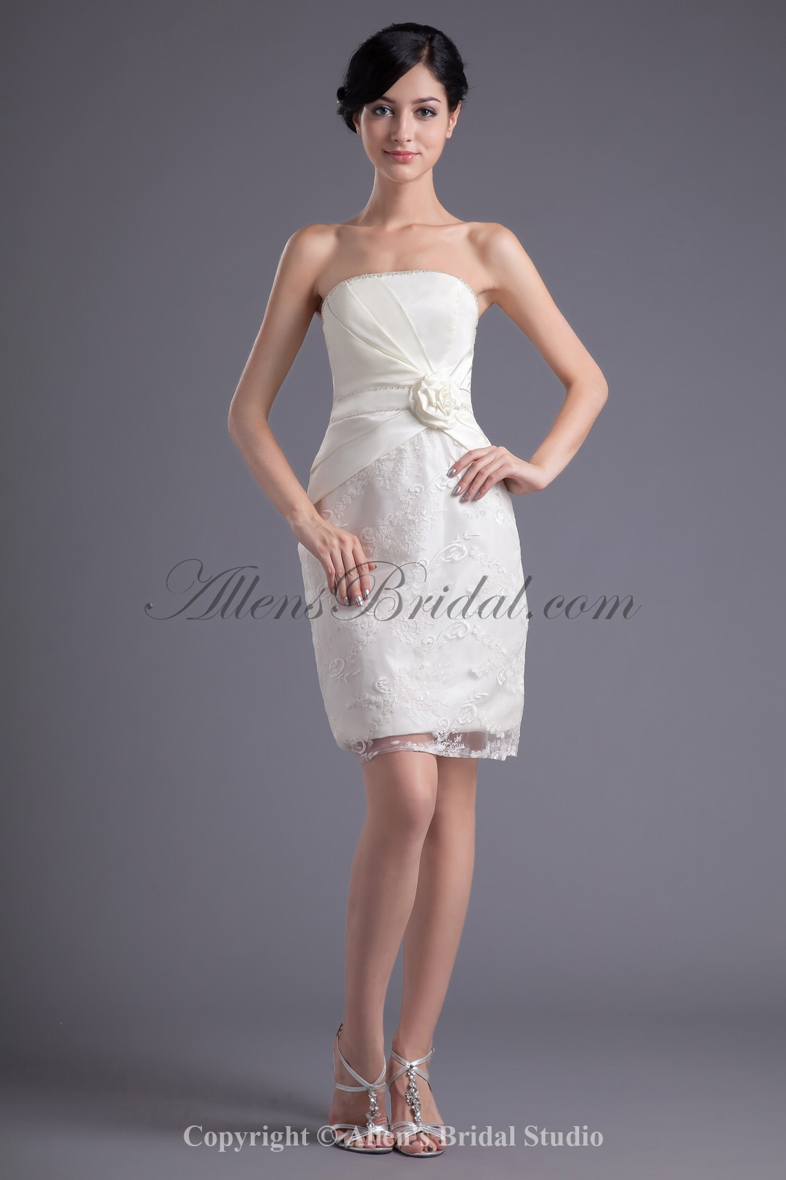 /43-337/satin-and-lace-strapless-neckline-sheath-short-hand-made-flower-cocktail-dress.jpg