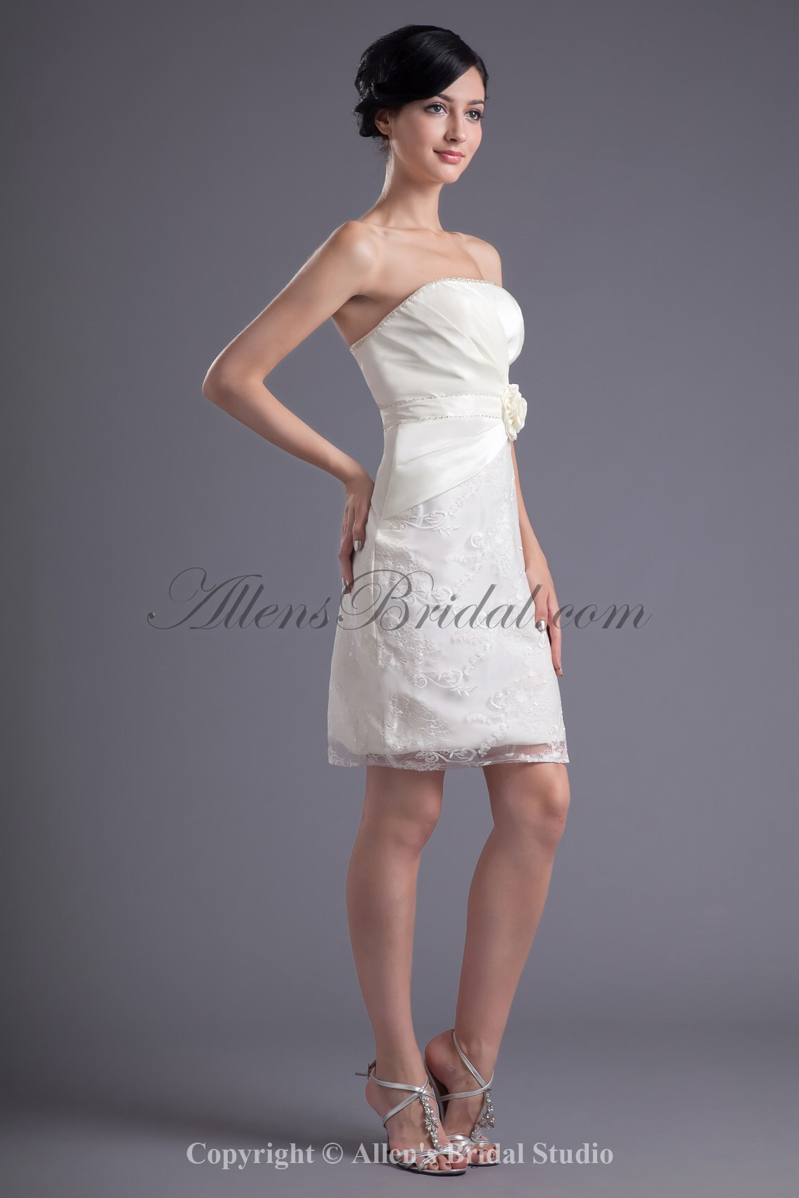 /43-338/satin-and-lace-strapless-neckline-sheath-short-hand-made-flower-cocktail-dress.jpg