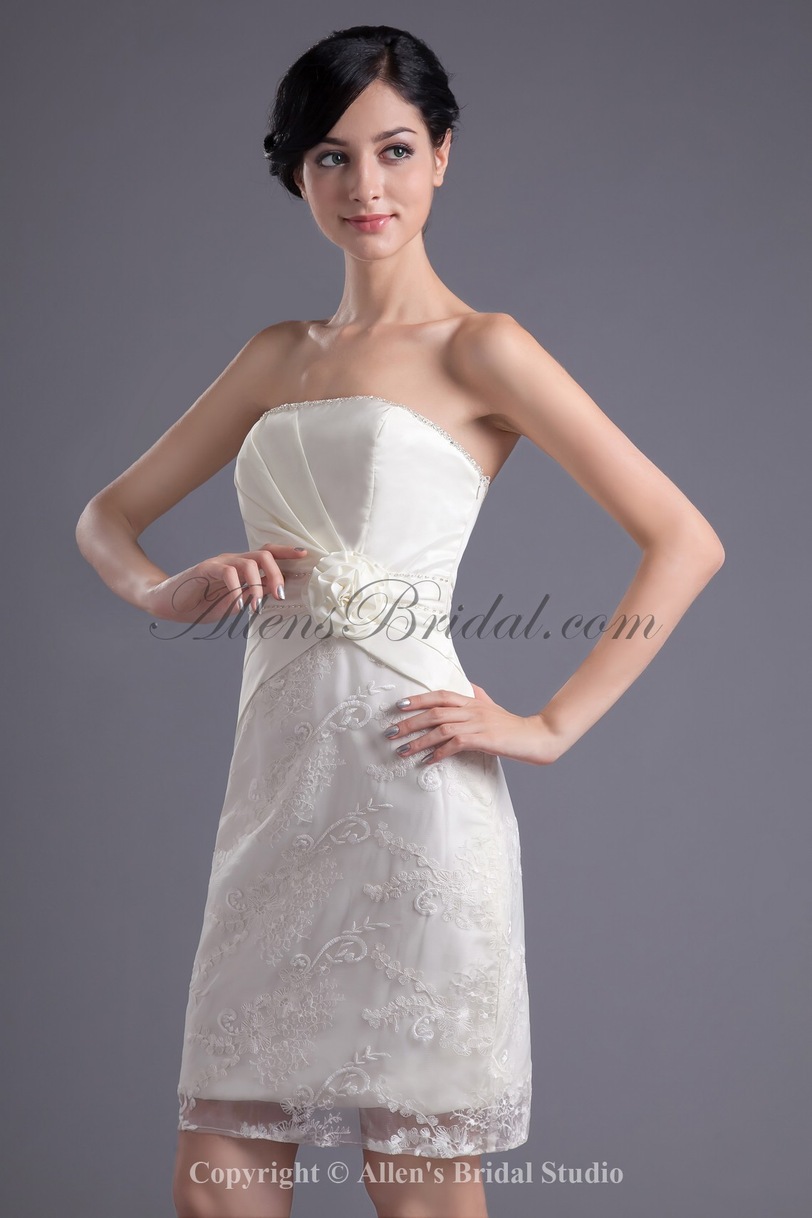 /43-341/satin-and-lace-strapless-neckline-sheath-short-hand-made-flower-cocktail-dress.jpg