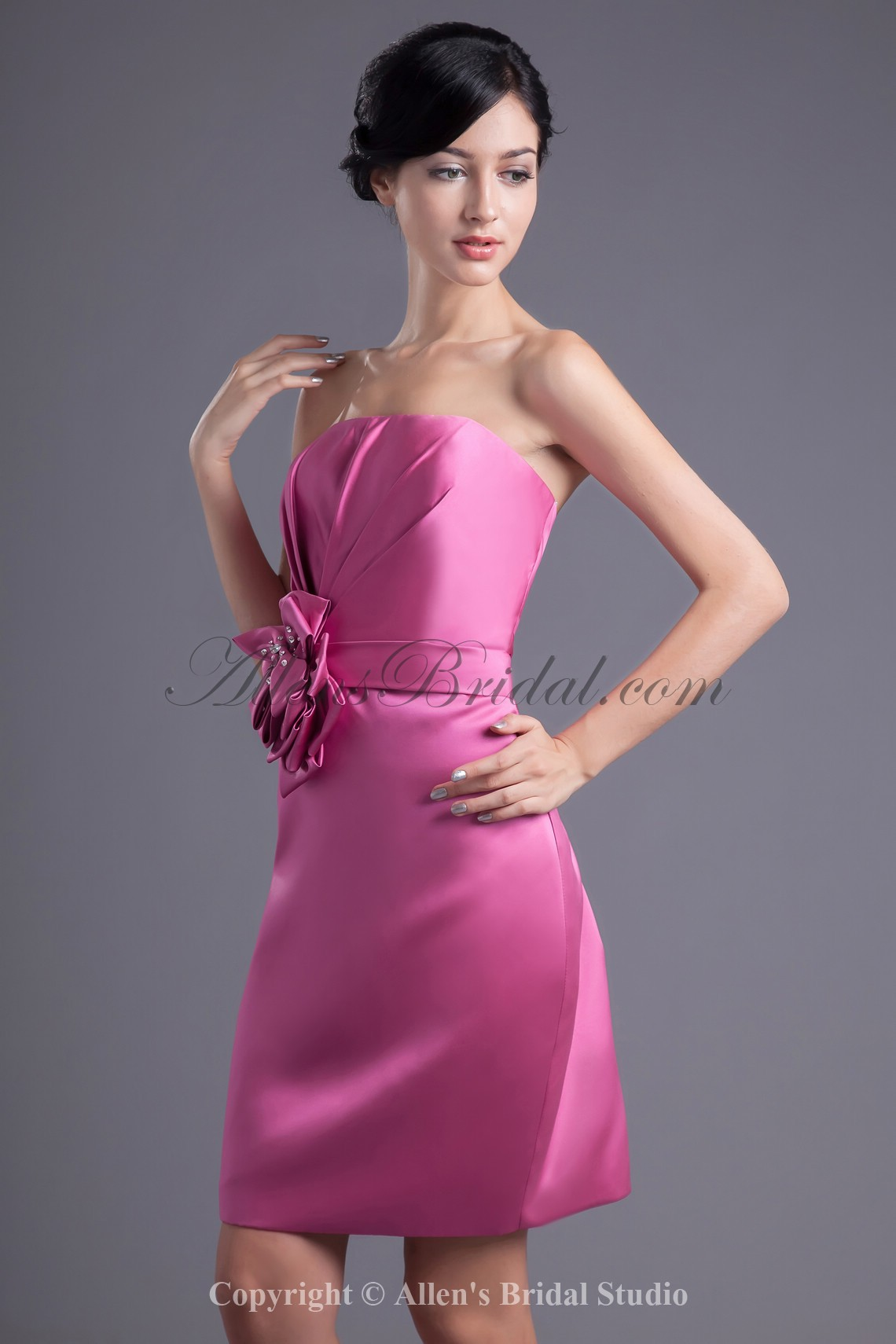 /44-348/satin-strapless-neckline-column-knee-length-hand-made-flower-cocktail-dress.jpg