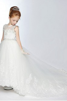 A-line Flower Girl Dress