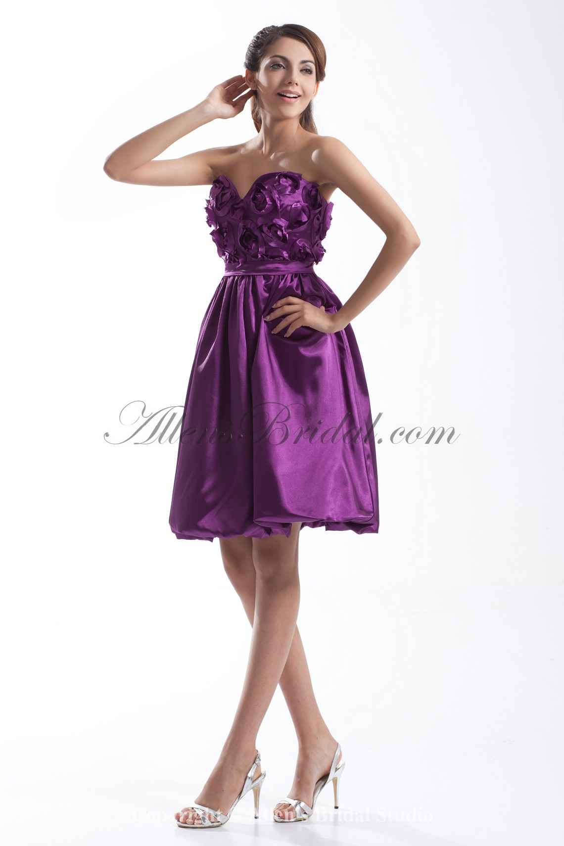 /633-5070/satin-sweetheart-knee-length-a-line-hand-made-flowers-cocktail-dress.jpg