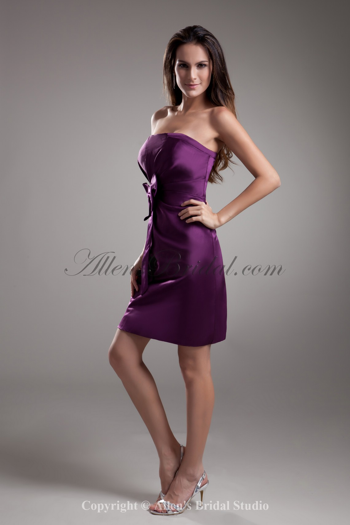 /734-5877/satin-strapless-neckline-short-sheath-bow-cocktail-dress.jpg