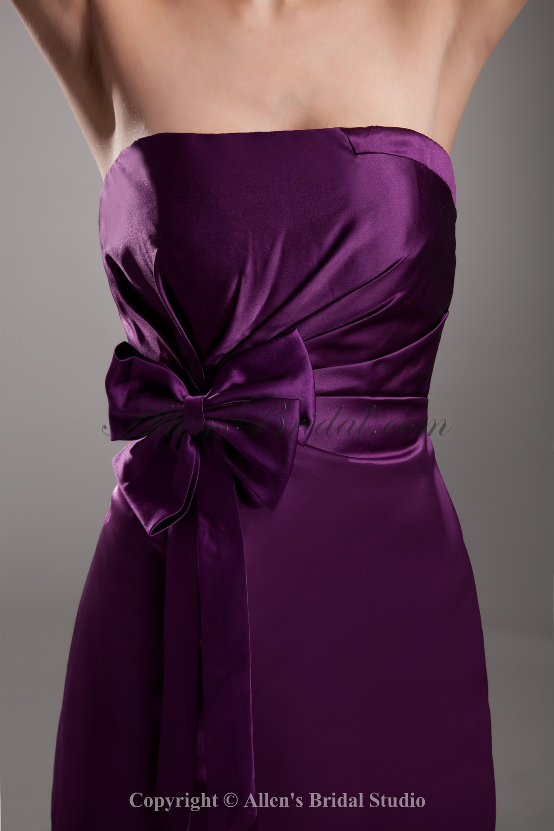 /734-5878/satin-strapless-neckline-short-sheath-bow-cocktail-dress.jpg
