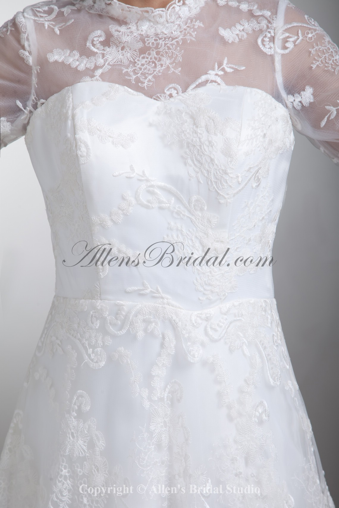 /796-6374/satin-and-lace-jewel-neckline-sweep-train-a-line-three-quarter-sleeves-wedding-dress.jpg