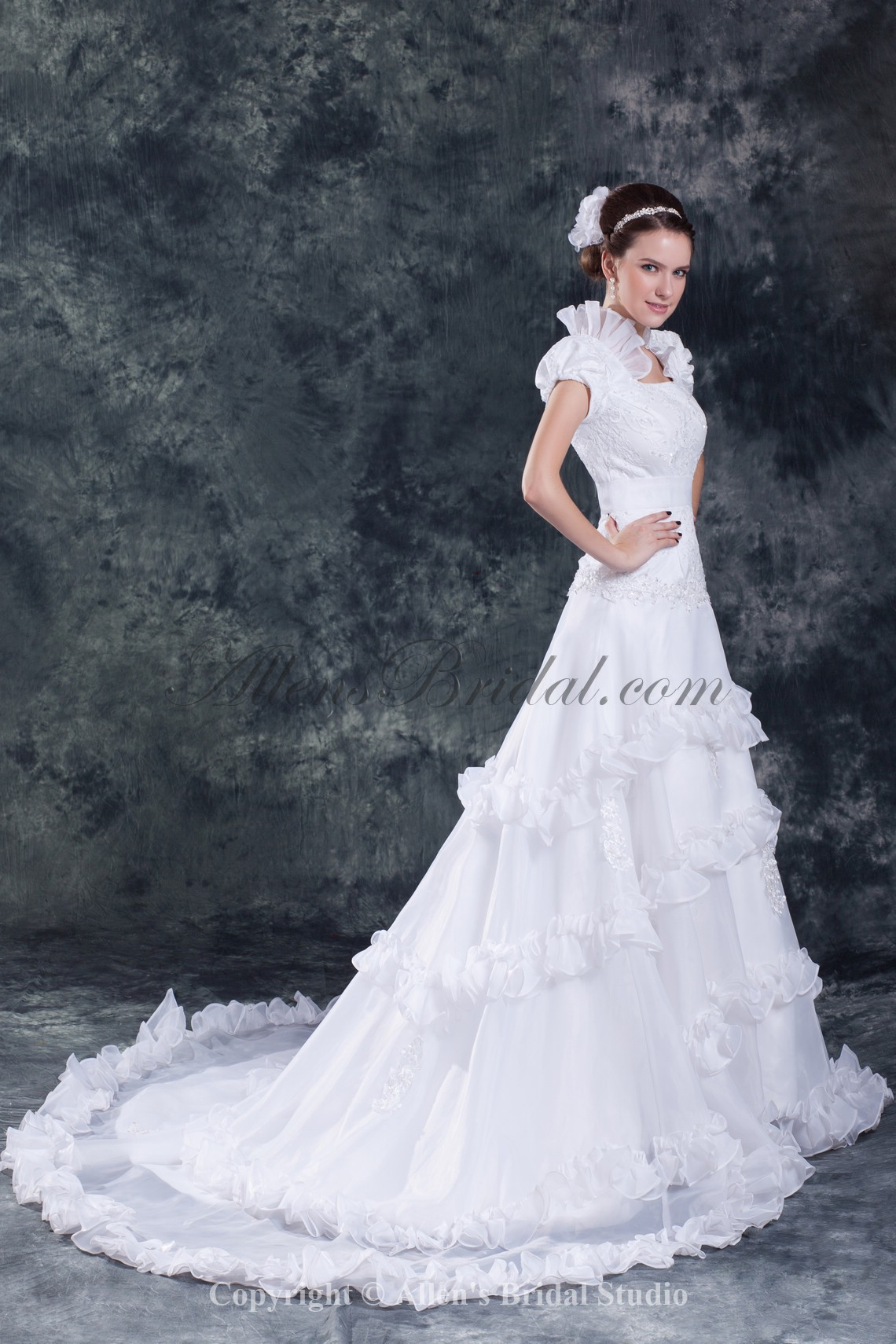 /838-6718/organza-square-neckline-sweep-train-a-line-cap-sleeve-wedding-dress.jpg