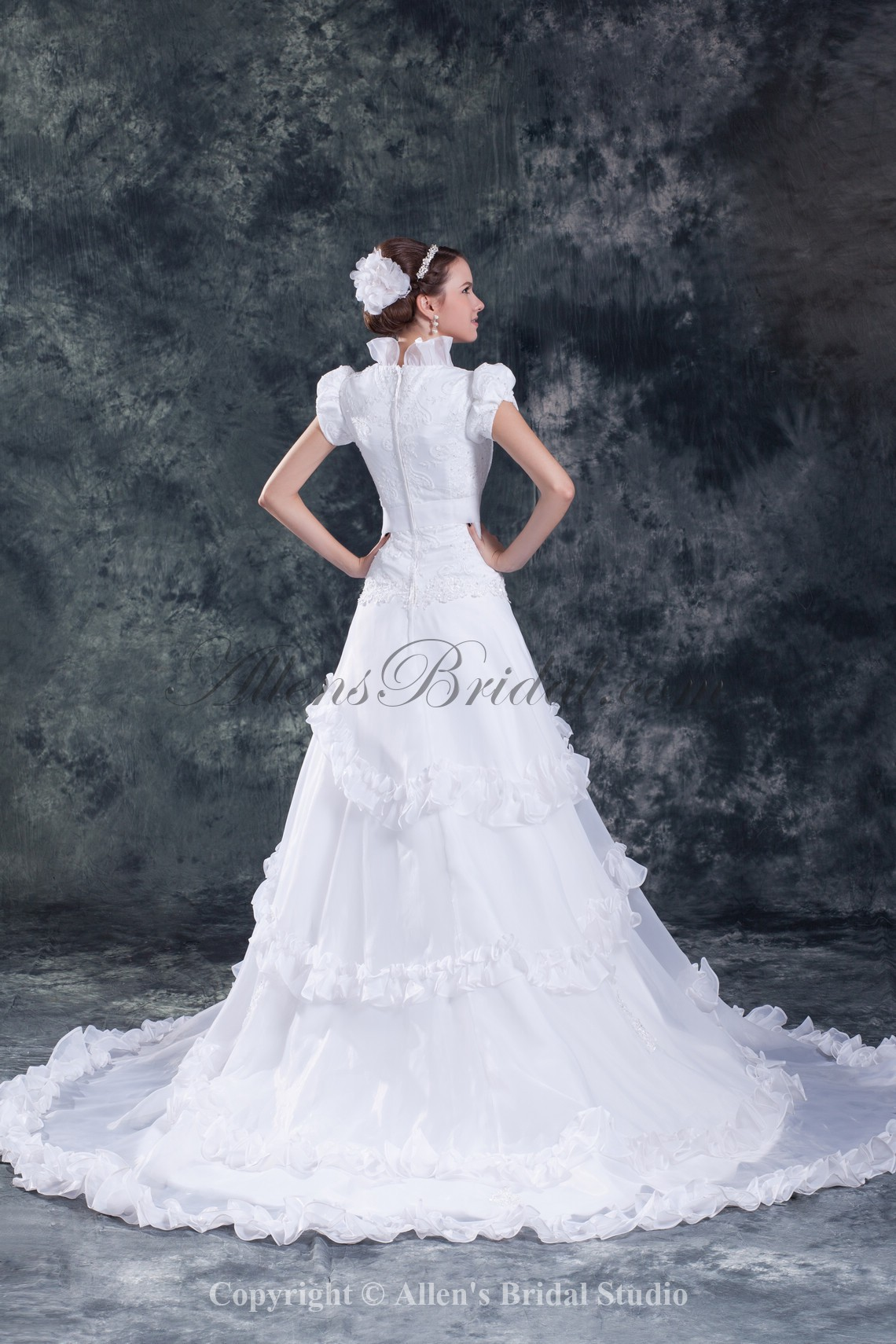 /838-6721/organza-square-neckline-sweep-train-a-line-cap-sleeve-wedding-dress.jpg