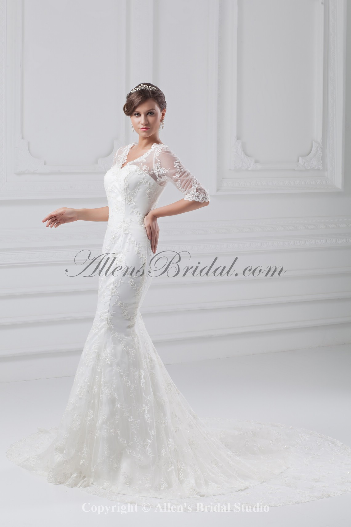 /858-6877/lace-v-neck-neckline-chapel-train-mermaid-half-sleeves-wedding-dress.jpg