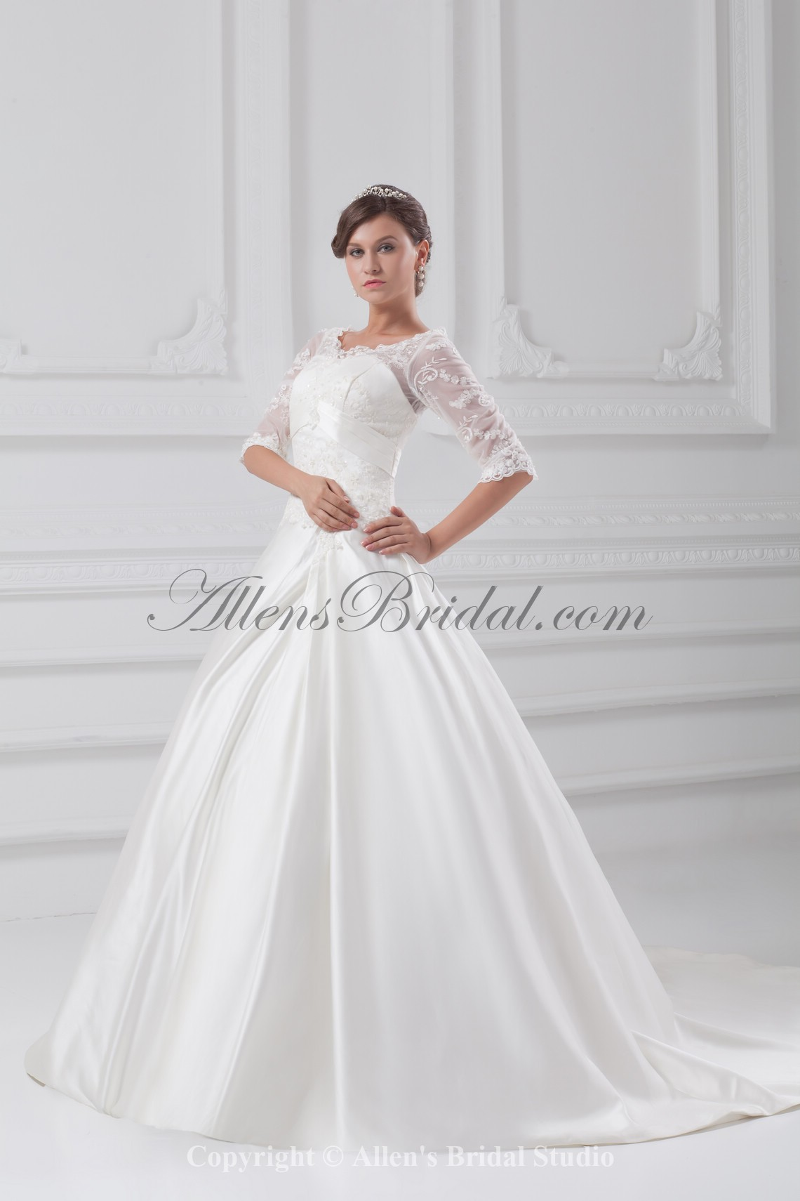 /897-7191/satin-v-neck-sweep-train-ball-gown-wedding-dress-with-jacket.jpg