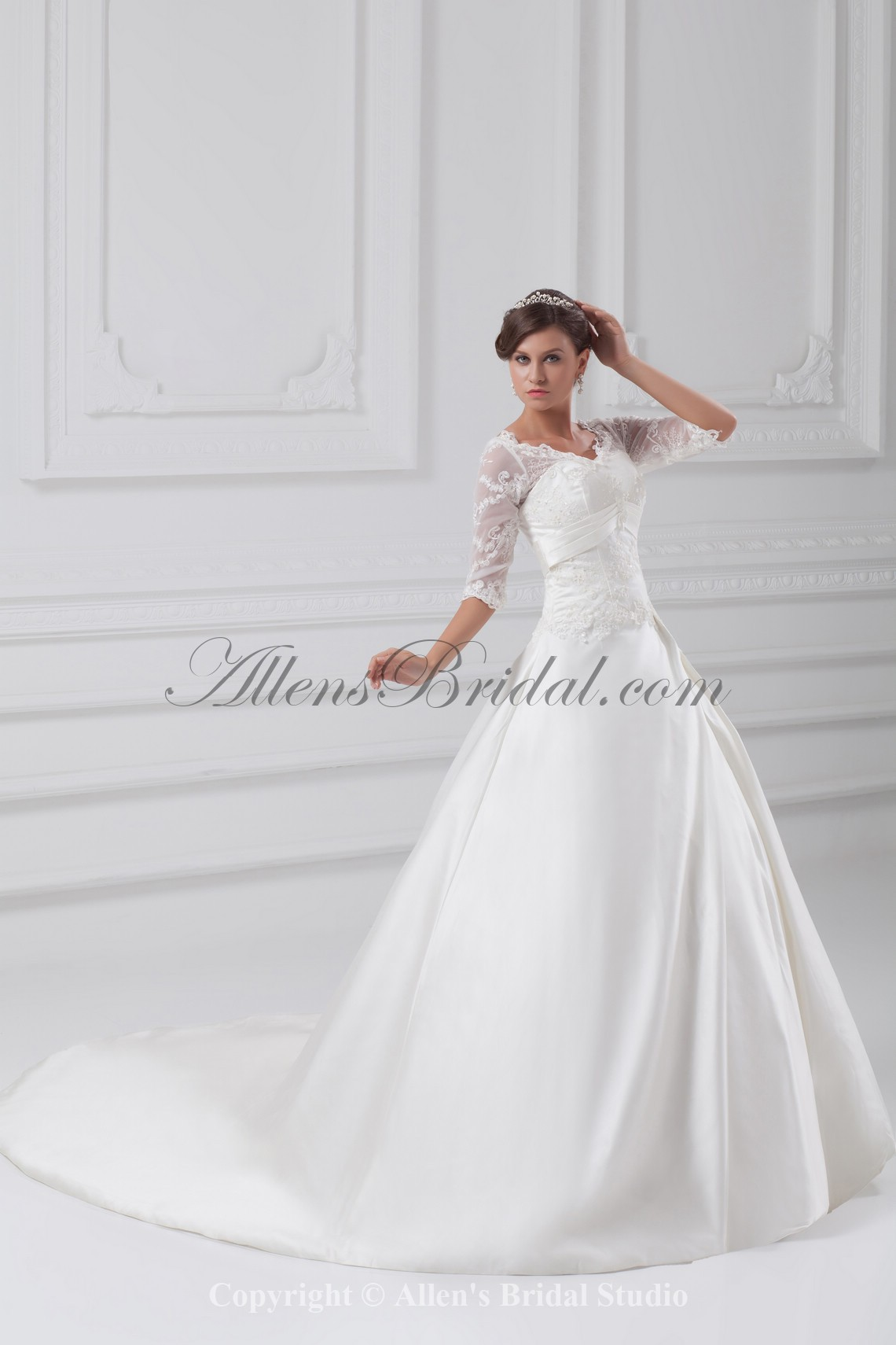 /897-7192/satin-v-neck-sweep-train-ball-gown-wedding-dress-with-jacket.jpg