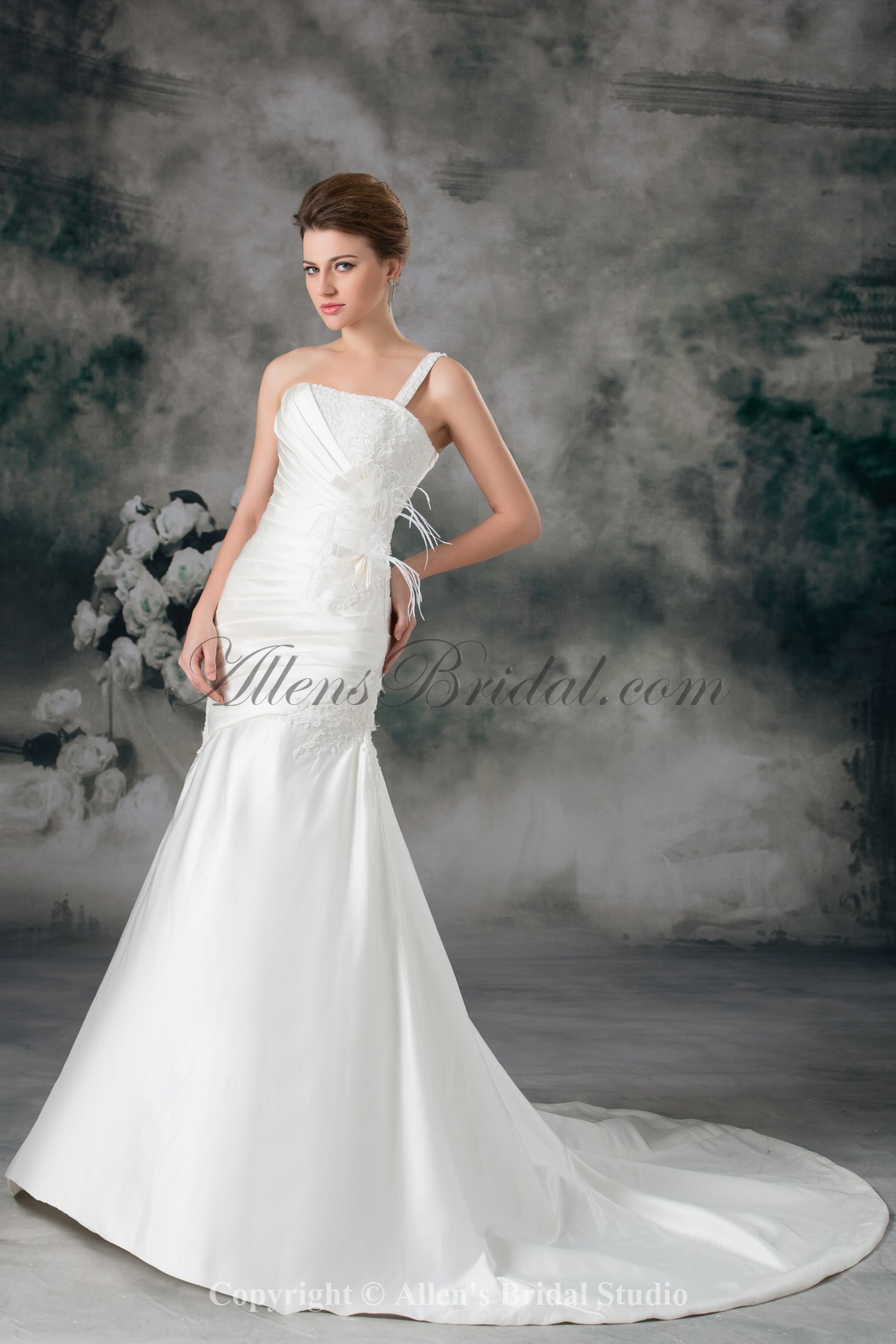 /931-7463/satin-one-shoulder-neckline-chapel-train-mermaid-feather-wedding-dress.jpg