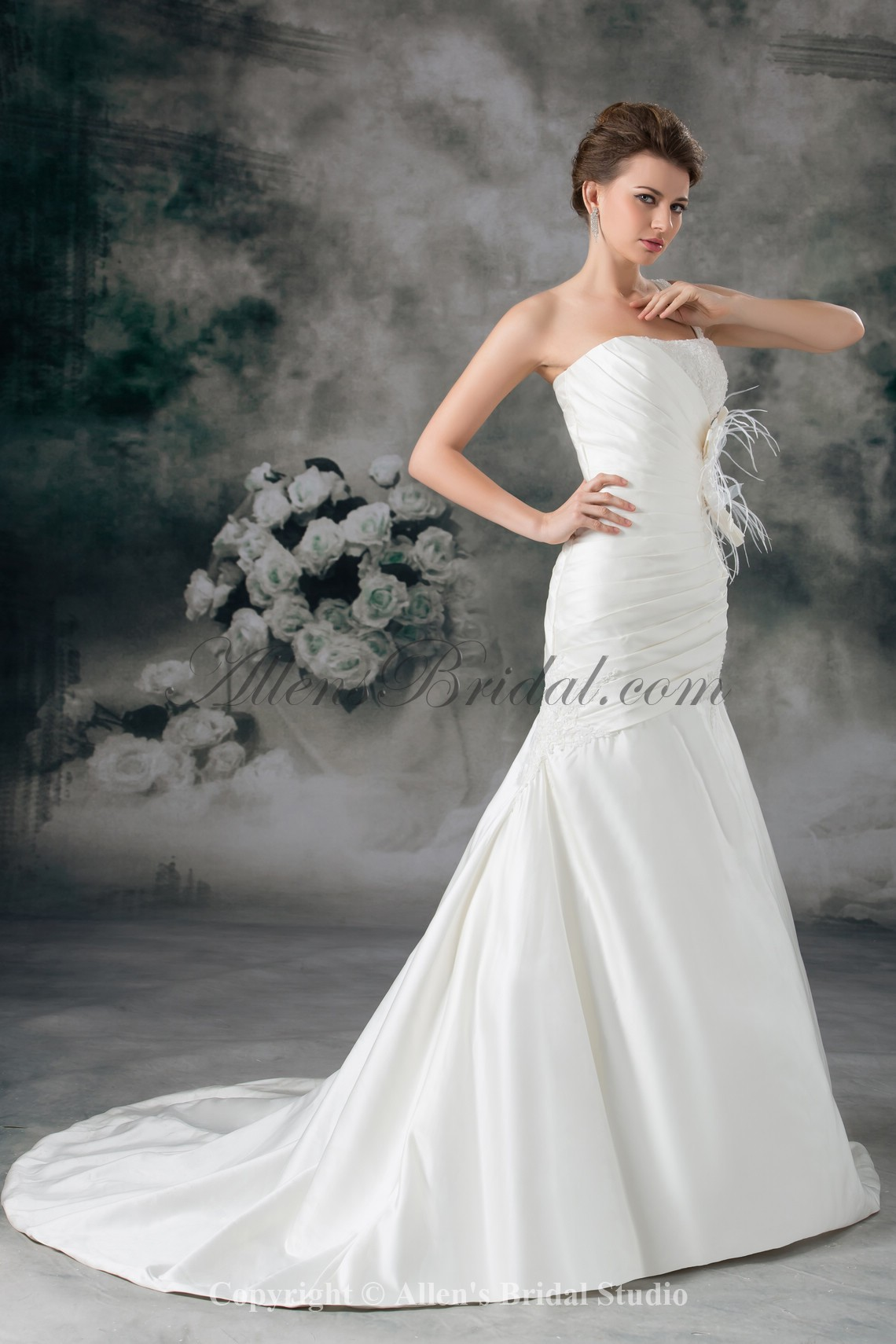 /931-7464/satin-one-shoulder-neckline-chapel-train-mermaid-feather-wedding-dress.jpg