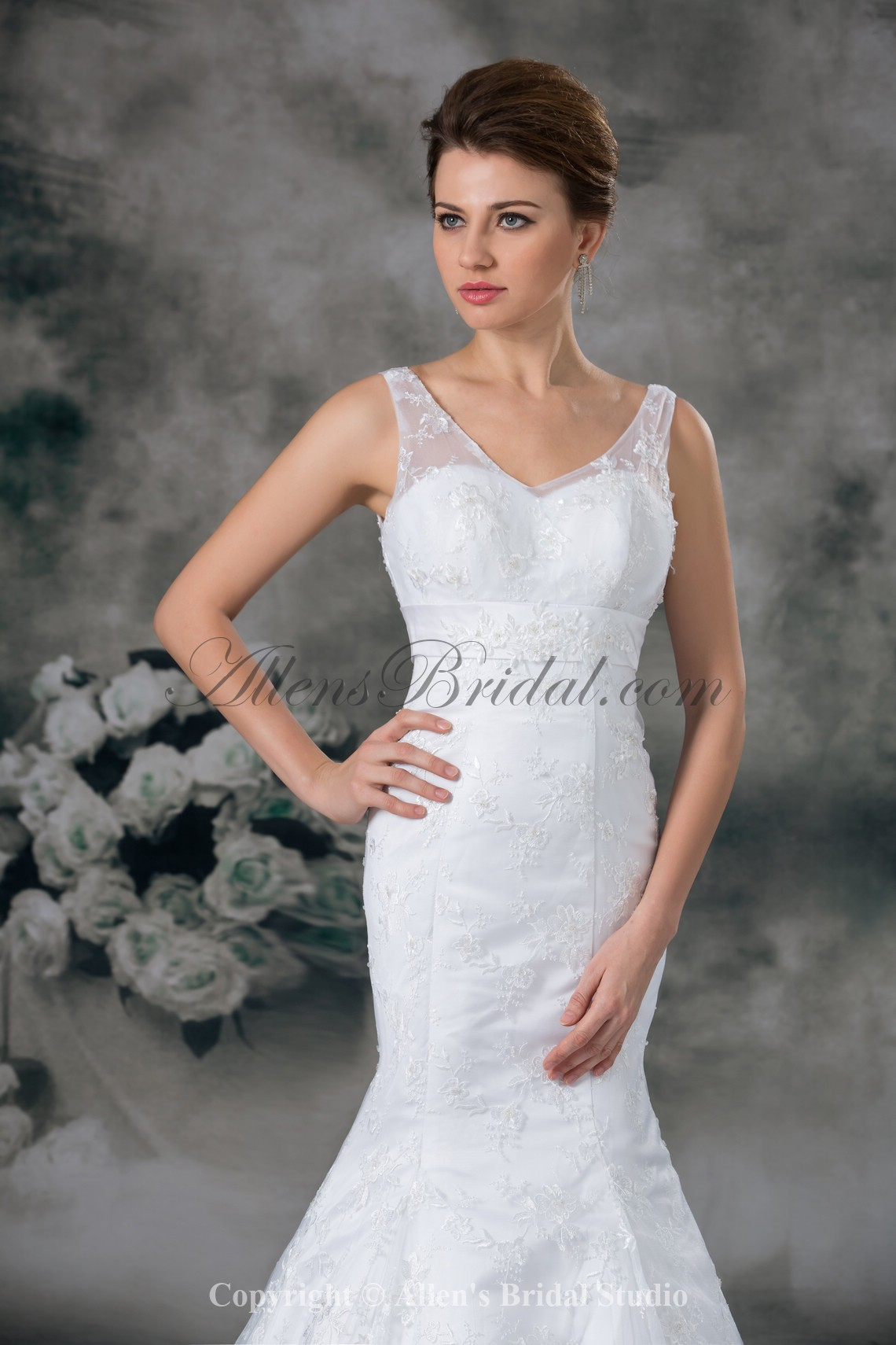 /949-7606/lace-v-neck-sweep-train-mermaid-wedding-dress.jpg