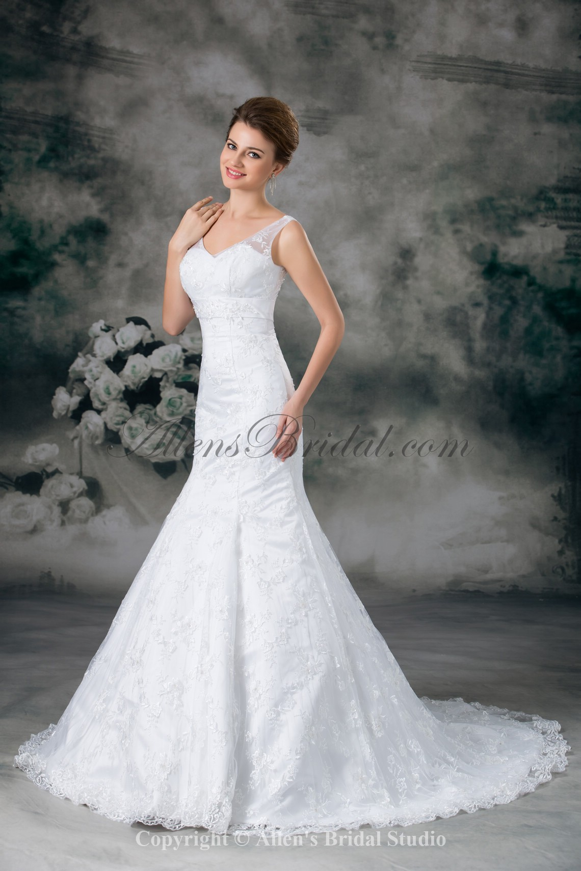 /949-7608/lace-v-neck-sweep-train-mermaid-wedding-dress.jpg