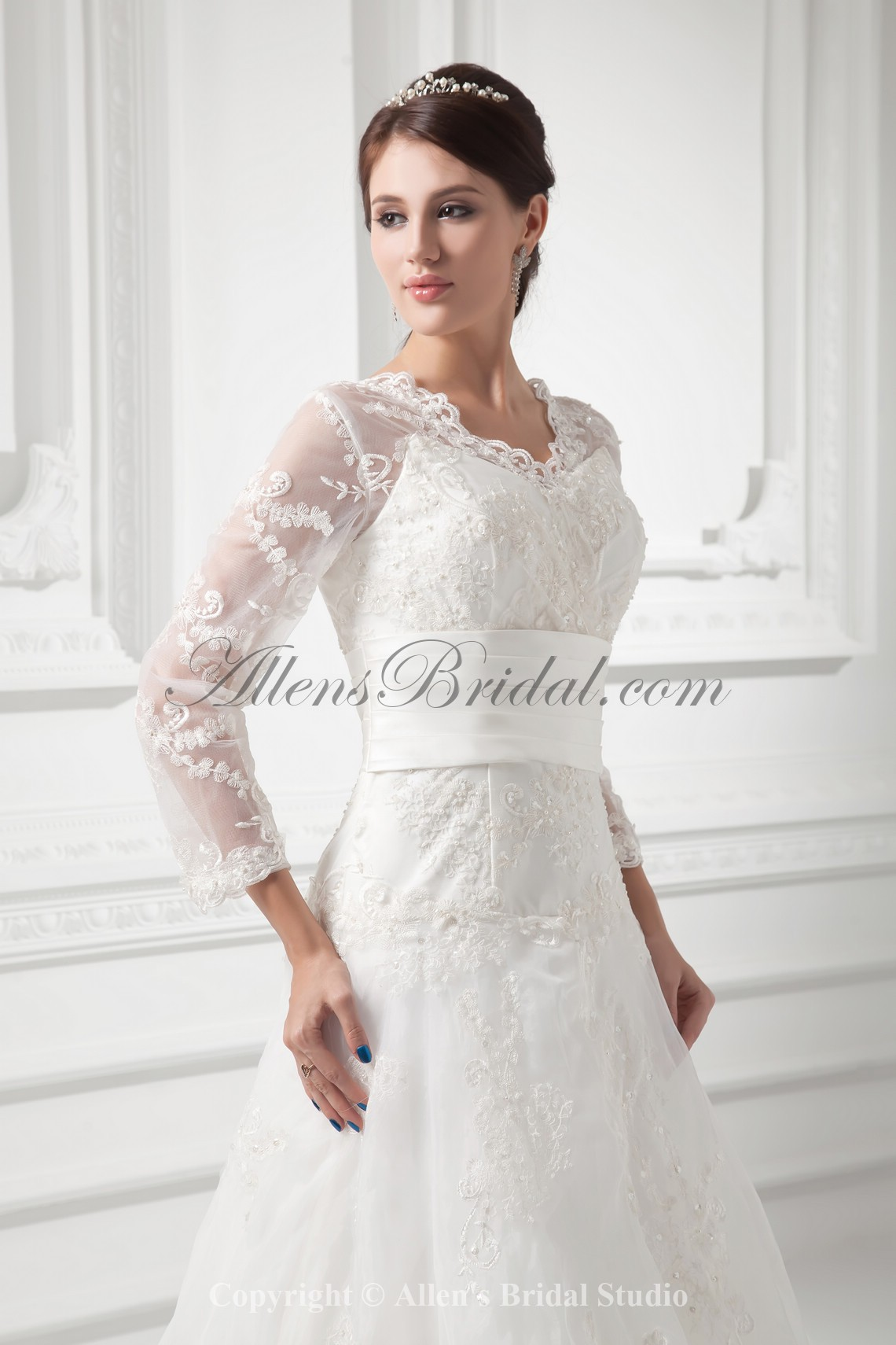 /991-7945/organza-v-neckline-a-line-sweep-train-embroidered-and-three-quarter-sleeves-wedding-dress-with-jacket.jpg